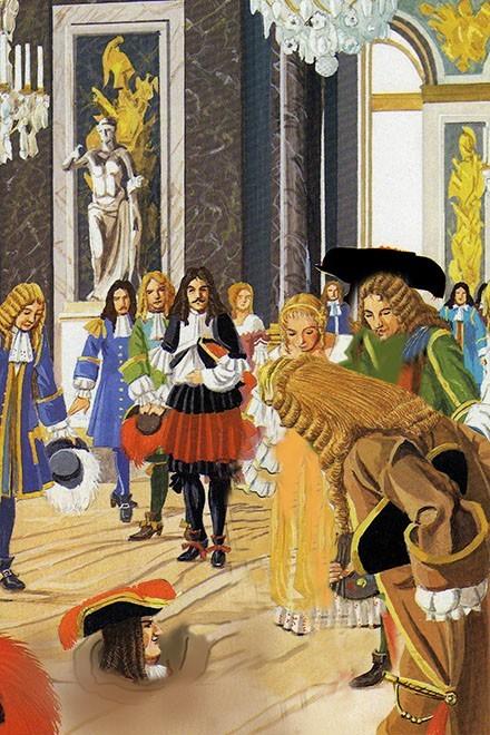 Et si saint louis avait rendu justice sous un marronier for Architecte de versailles sous louis xiv