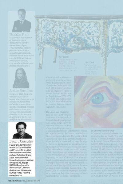 FauveParis dans le Bilan 2020 de Connaissance des Arts